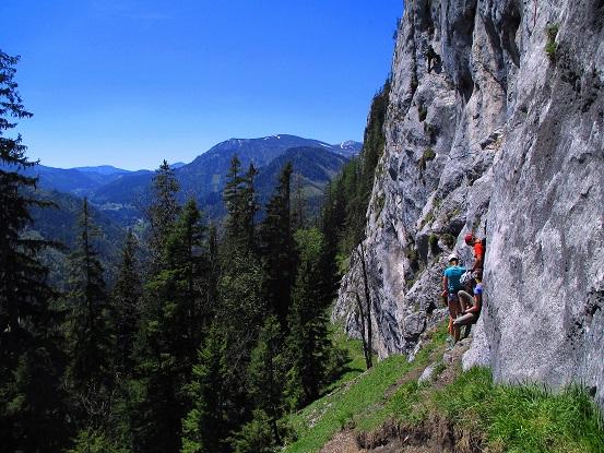 Klettersteig Himmelsleiter : Laserer alpin klettersteig