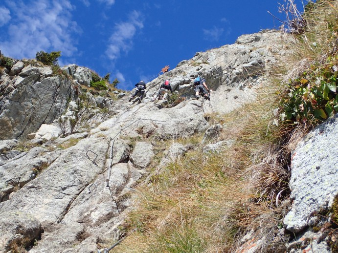 Klettersteig Ifinger : Klettersteig schneefrei u heini holzer ferrata