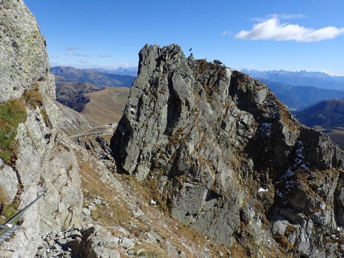 Klettersteig Ifinger : Berg s pur klettersteig am heini holzer steig ifinger