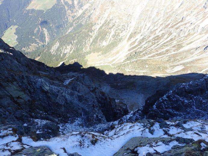 Klettersteig Ifinger : Klettersteig heini holzer meran tour