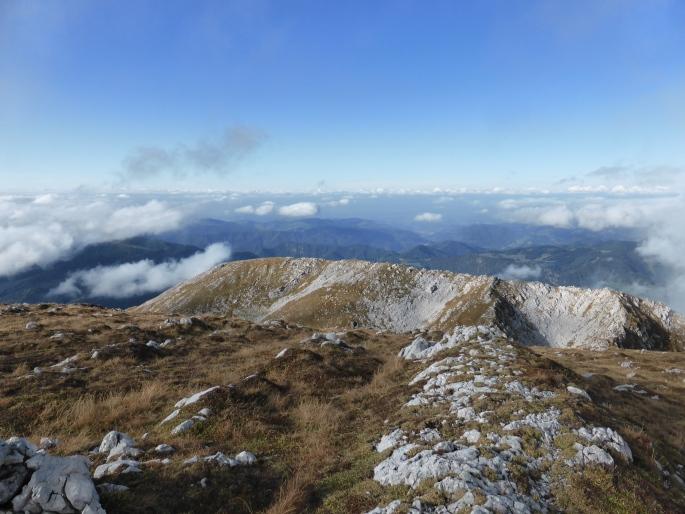 Foto: Manfred Karl / Wandertour / Großer Ötscher mit Gipfelrundweg / Blick zum Taubenstein / 13.11.2016 19:06:50