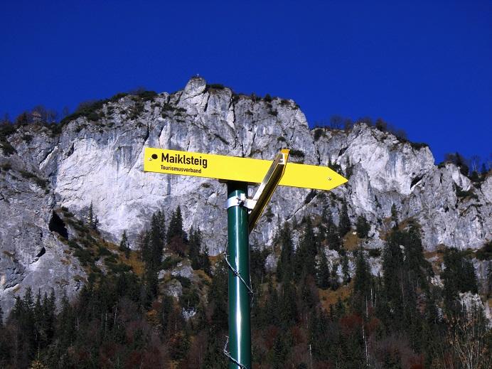 Foto: Andreas Koller / Klettersteig Tour / Maiklsteig und Schatterberg (1274m) / 10.01.2017 02:51:49