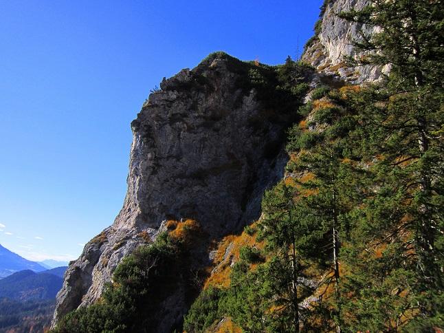 Foto: Andreas Koller / Klettersteig Tour / Maiklsteig und Schatterberg (1274m) / 10.01.2017 02:50:06