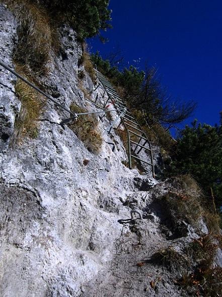 Foto: Andreas Koller / Klettersteig Tour / Maiklsteig und Schatterberg (1274m) / 10.01.2017 02:47:12