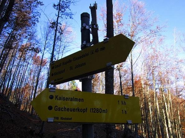 Foto: Andreas Koller / Klettersteig Tour / Maiklsteig und Schatterberg (1274m) / 10.01.2017 02:41:44