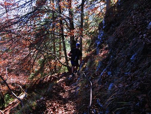 Foto: Andreas Koller / Klettersteig Tour / Maiklsteig und Schatterberg (1274m) / 10.01.2017 02:41:14