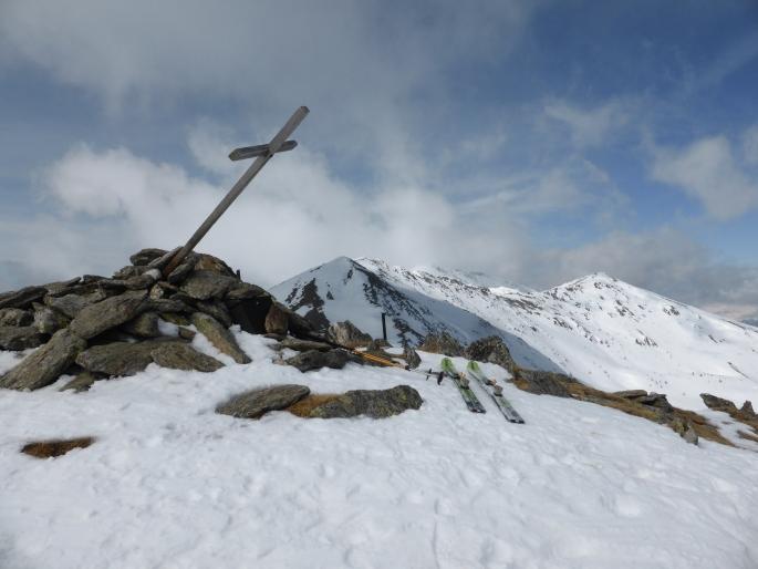 Foto: Manfred Karl / Skitour / Peitlernock von Innerkrems / Windgebeutelt / 16.01.2017 20:36:52