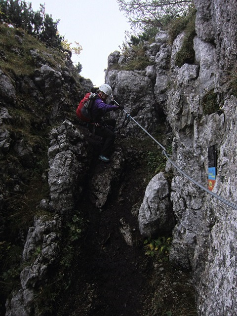 Foto: Andreas Koller / Klettersteigtour / Schützensteig und Jenner (1874m) / 09.03.2017 02:29:50
