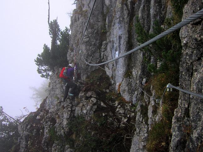 Foto: Andreas Koller / Klettersteigtour / Schützensteig und Jenner (1874m) / 09.03.2017 02:27:44
