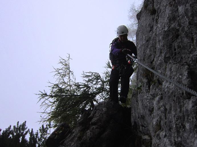 Foto: Andreas Koller / Klettersteigtour / Schützensteig und Jenner (1874m) / 09.03.2017 02:25:22