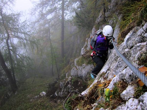 Foto: Andreas Koller / Klettersteigtour / Schützensteig und Jenner (1874m) / 09.03.2017 02:24:54