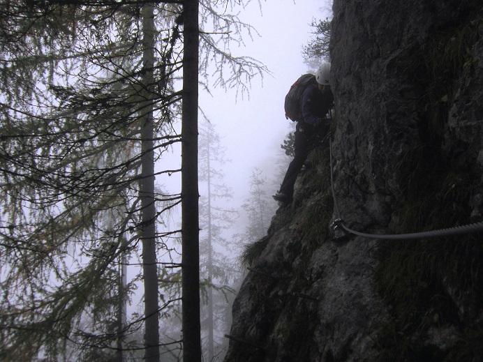 Foto: Andreas Koller / Klettersteigtour / Schützensteig und Jenner (1874m) / 09.03.2017 02:24:20