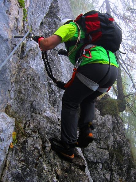Foto: Andreas Koller / Klettersteigtour / Schützensteig und Jenner (1874m) / 09.03.2017 02:24:07