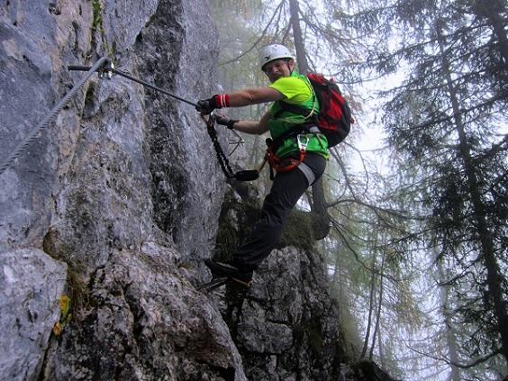 Foto: Andreas Koller / Klettersteigtour / Schützensteig und Jenner (1874m) / 09.03.2017 02:23:50
