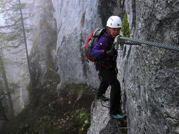 Foto: Andreas Koller / Klettersteigtour / Schützensteig und Jenner (1874m) / 09.03.2017 02:23:34