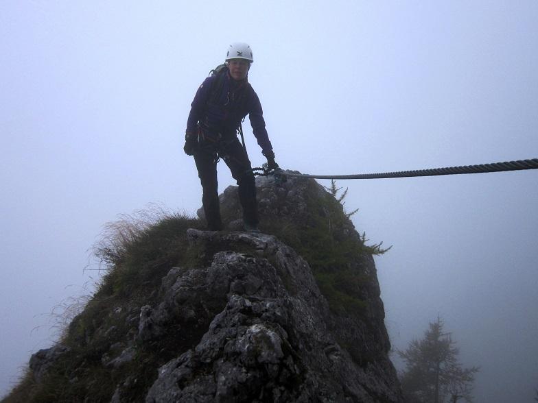Foto: Andreas Koller / Klettersteigtour / Schützensteig und Jenner (1874m) / 09.03.2017 02:22:31