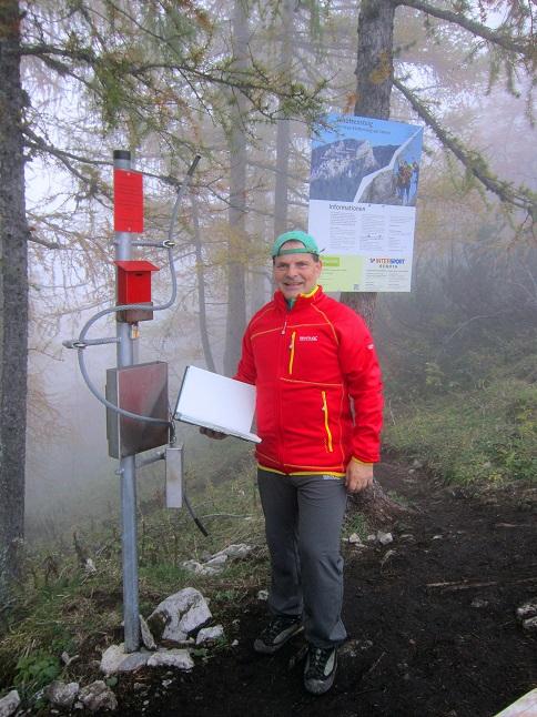 Foto: Andreas Koller / Klettersteigtour / Schützensteig und Jenner (1874m) / 09.03.2017 02:19:11