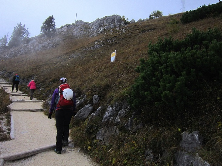 Foto: Andreas Koller / Klettersteigtour / Schützensteig und Jenner (1874m) / 09.03.2017 02:17:38