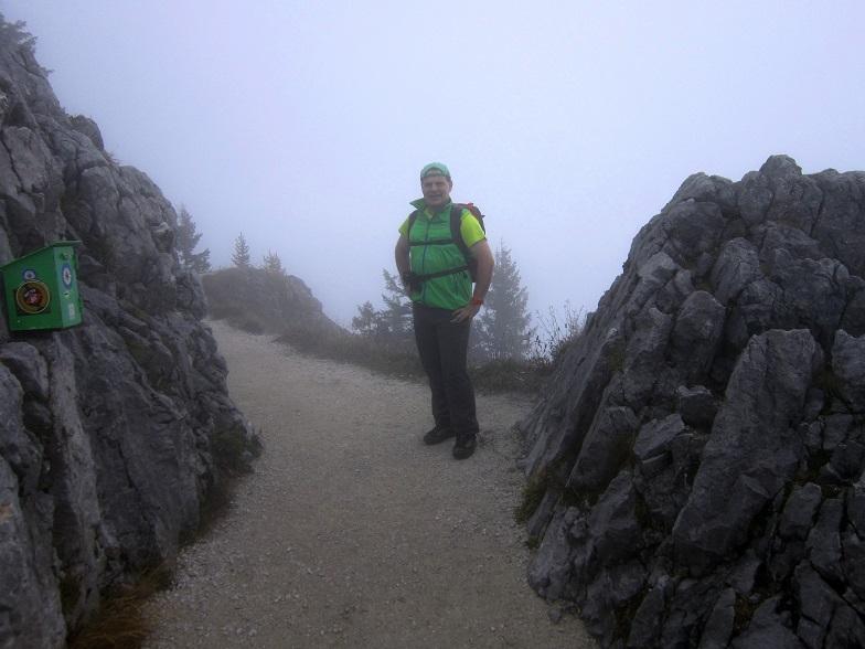 Foto: Andreas Koller / Klettersteigtour / Schützensteig und Jenner (1874m) / Abstieg vom Jenner / 09.03.2017 02:15:41