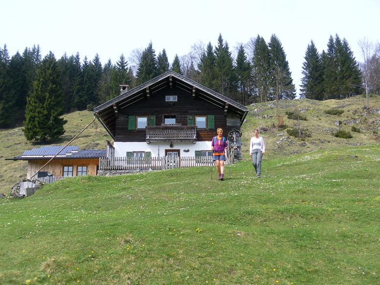 Foto: Wolfgang Lauschensky / Wandertour / Kranzhorn 1368m über Kranzhornsteig / Bubenau / 13.04.2017 21:14:42