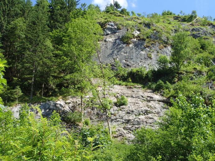 Klettersteig Gosau : Klettersteig beschreibung laserer alpin