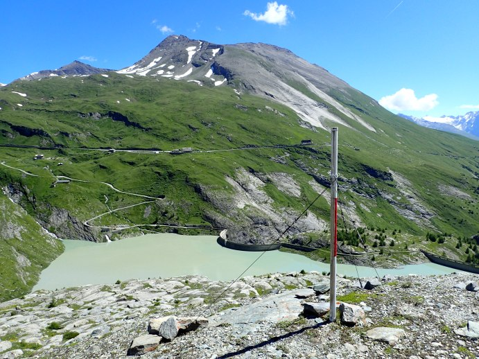 Foto: Manfred Karl / Wandertour / Gletscherweg Pasterze / Am Elisabethfelsen / 29.07.2017 17:15:46