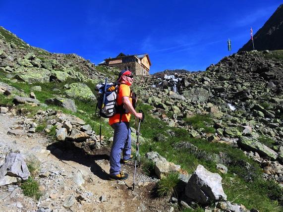 Foto: Andreas Koller / Wandertour / Breiter Grieskogel - eine stille Hochtour (3287m) / Bei der Winnebachseehütte / 11.08.2017 01:56:59