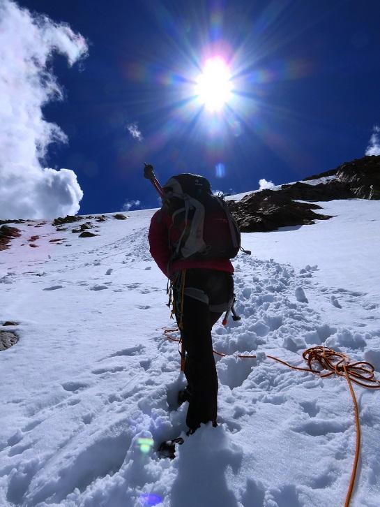 Foto: Andreas Koller / Wandertour / Breiter Grieskogel - eine stille Hochtour (3287m) / Abstieg vom Breiten Grieskogel / 11.08.2017 01:49:54