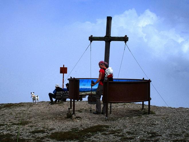 Foto: Andreas Koller / Wandertour / Blumenberg Blaser (2241m) / Am Gipfel des Blaser / 17.09.2017 21:47:48