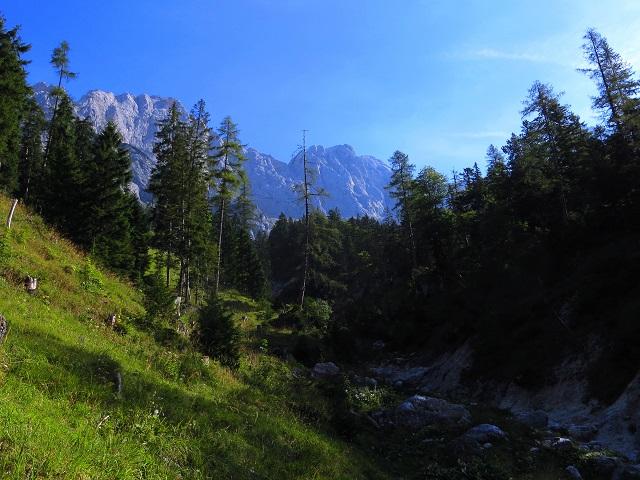 Foto: Andreas Koller / Klettersteigtour / TG Reiter Alpe 1: Klettersteig Mayrbergscharte (2055m) / 12.11.2017 00:28:49