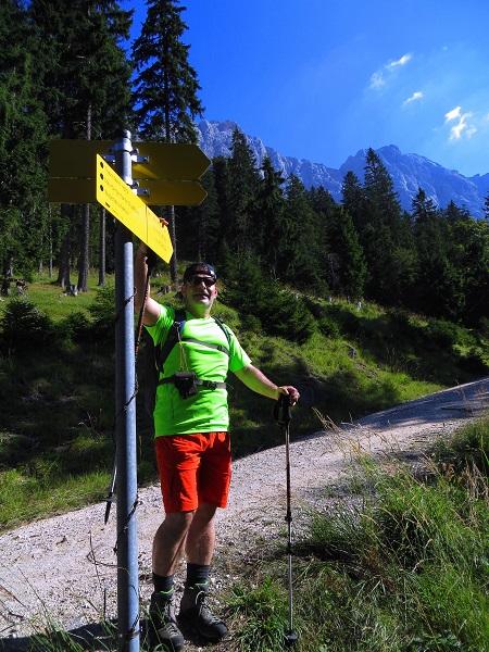 Foto: Andreas Koller / Klettersteigtour / TG Reiter Alpe 1: Klettersteig Mayrbergscharte (2055m) / 12.11.2017 00:28:44