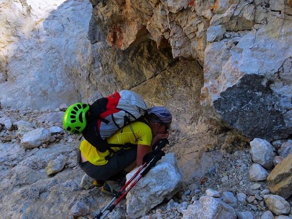 Foto: Andreas Koller / Klettersteigtour / TG Reiter Alpe 1: Klettersteig Mayrbergscharte (2055m) / 12.11.2017 00:28:23
