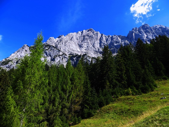 Foto: Andreas Koller / Klettersteigtour / TG Reiter Alpe 1: Klettersteig Mayrbergscharte (2055m) / 12.11.2017 00:28:15