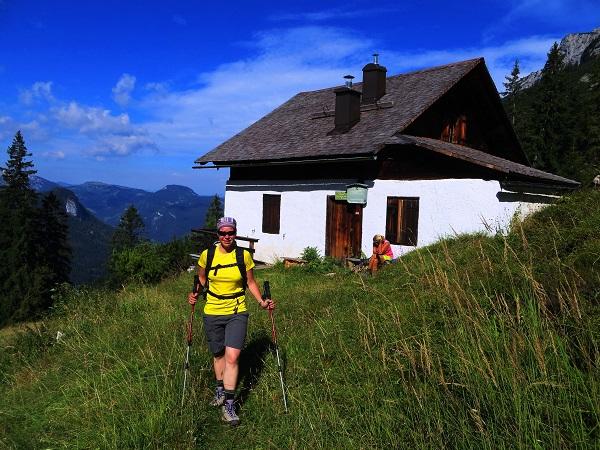 Foto: Andreas Koller / Klettersteigtour / TG Reiter Alpe 1: Klettersteig Mayrbergscharte (2055m) / 12.11.2017 00:28:09