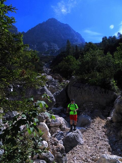 Foto: Andreas Koller / Klettersteigtour / TG Reiter Alpe 1: Klettersteig Mayrbergscharte (2055m) / 12.11.2017 00:28:02
