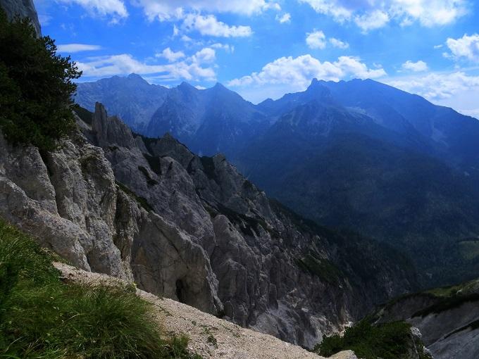 Foto: Andreas Koller / Klettersteigtour / TG Reiter Alpe 1: Klettersteig Mayrbergscharte (2055m) / 12.11.2017 00:27:02