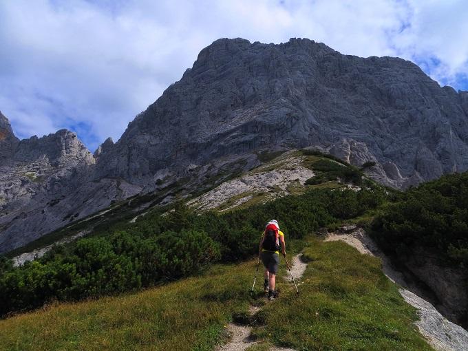 Foto: Andreas Koller / Klettersteigtour / TG Reiter Alpe 1: Klettersteig Mayrbergscharte (2055m) / 12.11.2017 00:26:55