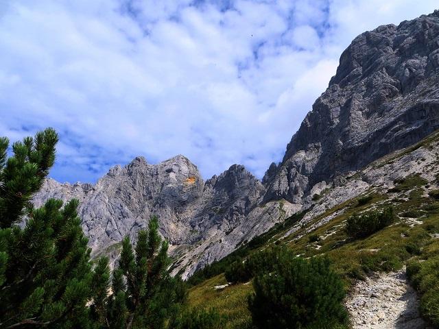 Foto: Andreas Koller / Klettersteigtour / TG Reiter Alpe 1: Klettersteig Mayrbergscharte (2055m) / 12.11.2017 00:26:46
