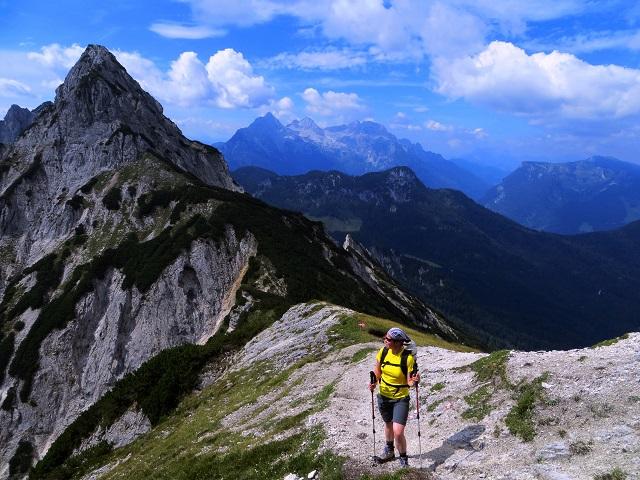 Foto: Andreas Koller / Klettersteigtour / TG Reiter Alpe 1: Klettersteig Mayrbergscharte (2055m) / 12.11.2017 00:26:31
