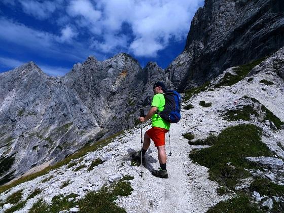 Foto: Andreas Koller / Klettersteigtour / TG Reiter Alpe 1: Klettersteig Mayrbergscharte (2055m) / 12.11.2017 00:26:23