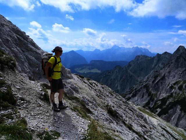Foto: Andreas Koller / Klettersteigtour / TG Reiter Alpe 1: Klettersteig Mayrbergscharte (2055m) / 12.11.2017 00:26:15