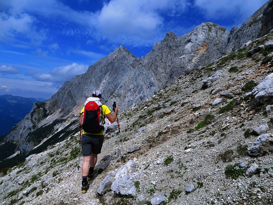 Foto: Andreas Koller / Klettersteigtour / TG Reiter Alpe 1: Klettersteig Mayrbergscharte (2055m) / 12.11.2017 00:26:08