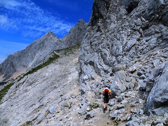 Foto: Andreas Koller / Klettersteigtour / TG Reiter Alpe 1: Klettersteig Mayrbergscharte (2055m) / 12.11.2017 00:25:59