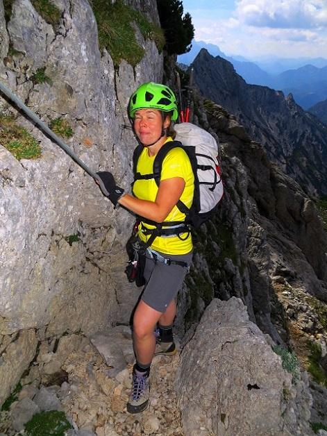 Foto: Andreas Koller / Klettersteigtour / TG Reiter Alpe 1: Klettersteig Mayrbergscharte (2055m) / 12.11.2017 00:25:14