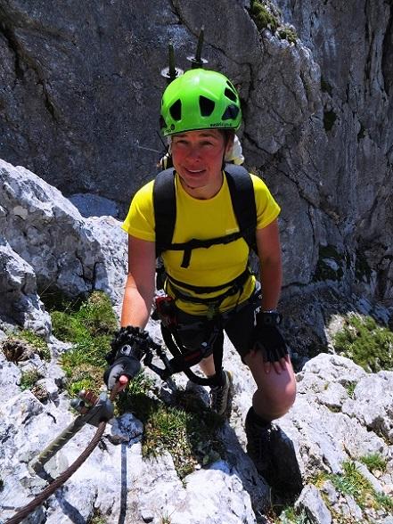 Foto: Andreas Koller / Klettersteigtour / TG Reiter Alpe 1: Klettersteig Mayrbergscharte (2055m) / 12.11.2017 00:24:43