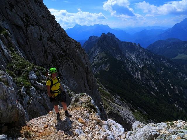 Foto: Andreas Koller / Klettersteigtour / TG Reiter Alpe 1: Klettersteig Mayrbergscharte (2055m) / 12.11.2017 00:24:35