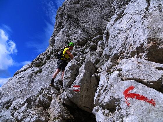 Foto: Andreas Koller / Klettersteigtour / TG Reiter Alpe 1: Klettersteig Mayrbergscharte (2055m) / 12.11.2017 00:24:19