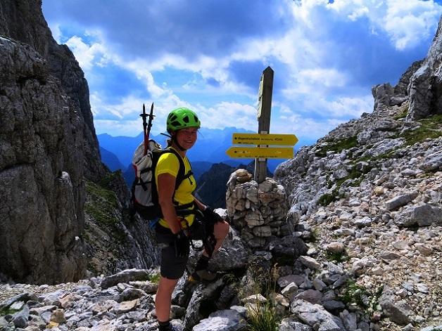 Foto: Andreas Koller / Klettersteigtour / TG Reiter Alpe 1: Klettersteig Mayrbergscharte (2055m) / 12.11.2017 00:23:39