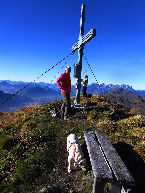 Foto: Andreas Koller / Wandertour / Großer Gebra - eine stille Tour in den Kitzbüheler Alpen (2057m) / Großer Gebra - Gipfel / 08.12.2017 17:25:02