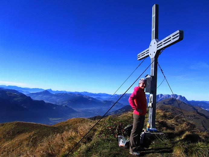 Foto: Andreas Koller / Wandertour / Großer Gebra - eine stille Tour in den Kitzbüheler Alpen (2057m) / 08.12.2017 17:23:41
